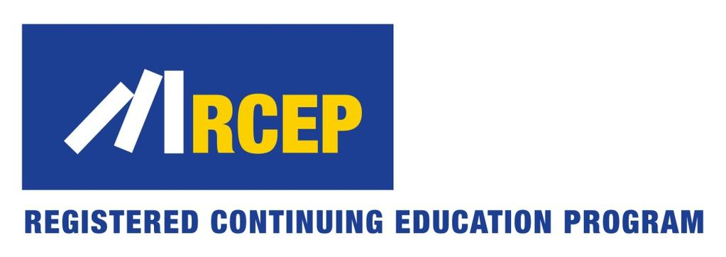 The Transportation Research Board has met the standards and requirements of the Registered Continuing Education Providers Program. Credit earned on completion of this program will be reported to RCEP.