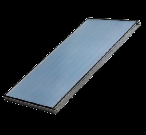 Solar Boosted Heat Pump (Collector Options) Unglazed Solar Thermal Collector Unglazed Collector By using an unglazed solar absorber it is