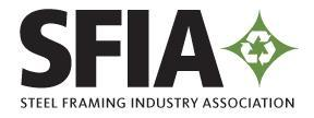 The Collective Voice of America s Steel Framing Industry The Steel Framing Industry Association (SFIA) is dedicated to expanding the market for cold-formed steel in construction through programs and