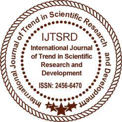 International Journal of Trend in Scientific Research and Development (IJTSRD) UGC Approved International Open Access Journal ISSN No: 2456-6470 www.ijtsrd.
