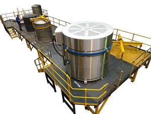 are loaded into jigs within the furnace retorts and then heat treated under an inert gas atmosphere.