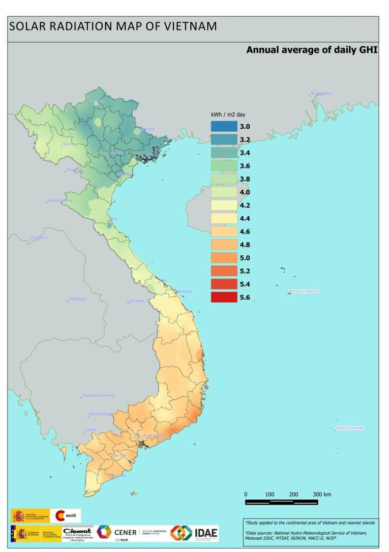 Solar PV potential in Vietnam CURRENT STATUS AND POTENTIAL Approx.