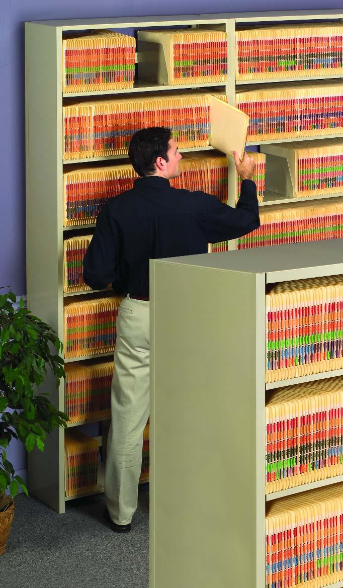 L&T Shelving Is Right For Your Business L&T Open Shelf Filing Solutions L&T Shelving provides the highest filing density per square foot, whether you're filing letter or legal-sized documents.