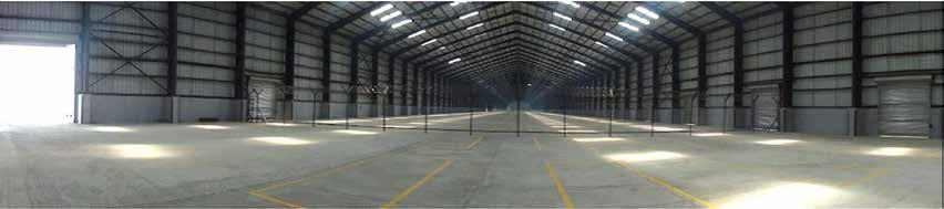 mtrs of well demarcated open storage yard for minerals, project cargo,