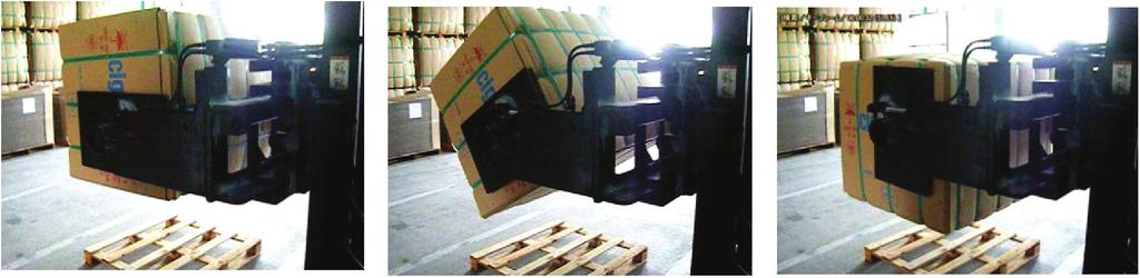 position) the flatness or curvature of the different sides of the bales (top and bottom of the bale) the stability and thickness of the packaging material (under the weight of the bale the boards of