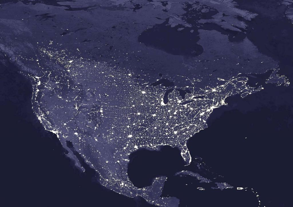 5 Photo courtesy of NASA. US MEX: ENERGY by Dan Kammen North America by night. The current increase in energy costs is the second large-scale upheaval we have seen in the energy sector.