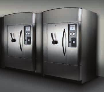AMSCO EVOLUTION STEAM STERILIZER AN EVOLUTIONARY ADVANCE IN STERILIZER CONTROL The difference in Evolution s controls is obvious, even from across the room.
