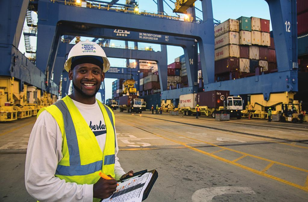 orth arolina s Ports of Wilmington and orehead ity, plus inland terminals in harlotte and in the Piedmont Triad at Greensboro, have the capability and capacity to serve as competitive alternatives to