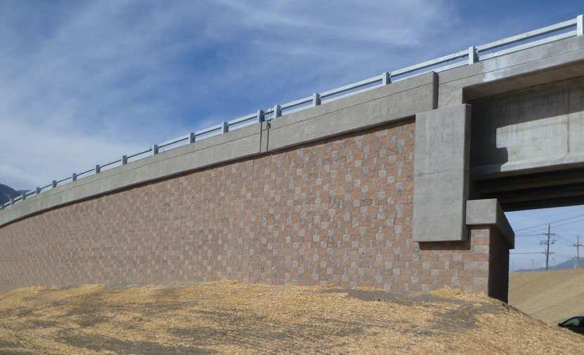 mesa walls are more than a site solution; they create a visually appealing landscape feature on your site.