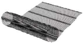 The geogrid may be held in place by anchoring it with stakes or rebar at the tail end.