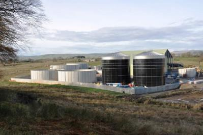 Methane platform Scotland has good research expertise in anaerobic digestion Yields are