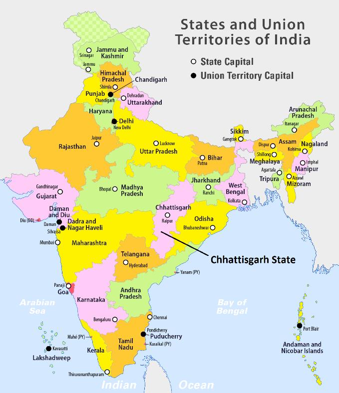 Chapter 2 Study Objectives and Methodology bounded by Koria district on the north, Anuppur District and Dindori District of Madhya Pradesh State on the West, Kawardha district of Chhattisgarh on the