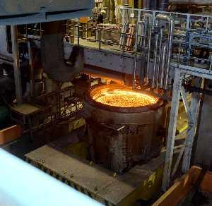 Ladle metallurgy Presence of high levels of oxygen