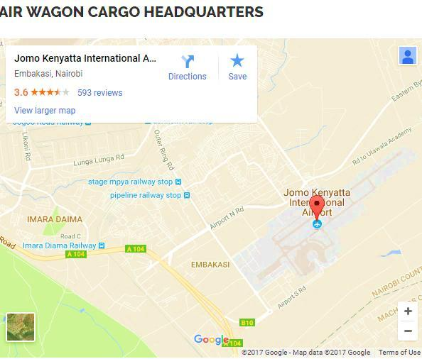 CONTACT US Location Cargo Village, Jomo Kenyatta International Airport, Block B, Ground Floor, Suite No.