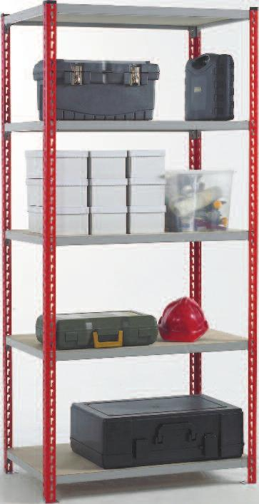 Supplied as ready to build units, shelving bays are available with optional extra shelf levels for adaptability or can be designed to your specific needs.