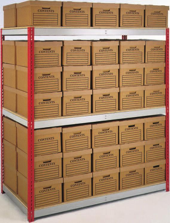 BULK DOCUMENT AND ARCHIVE STORAGE Stockrax Archiving is the cost effective solution to bulk storage of documents.