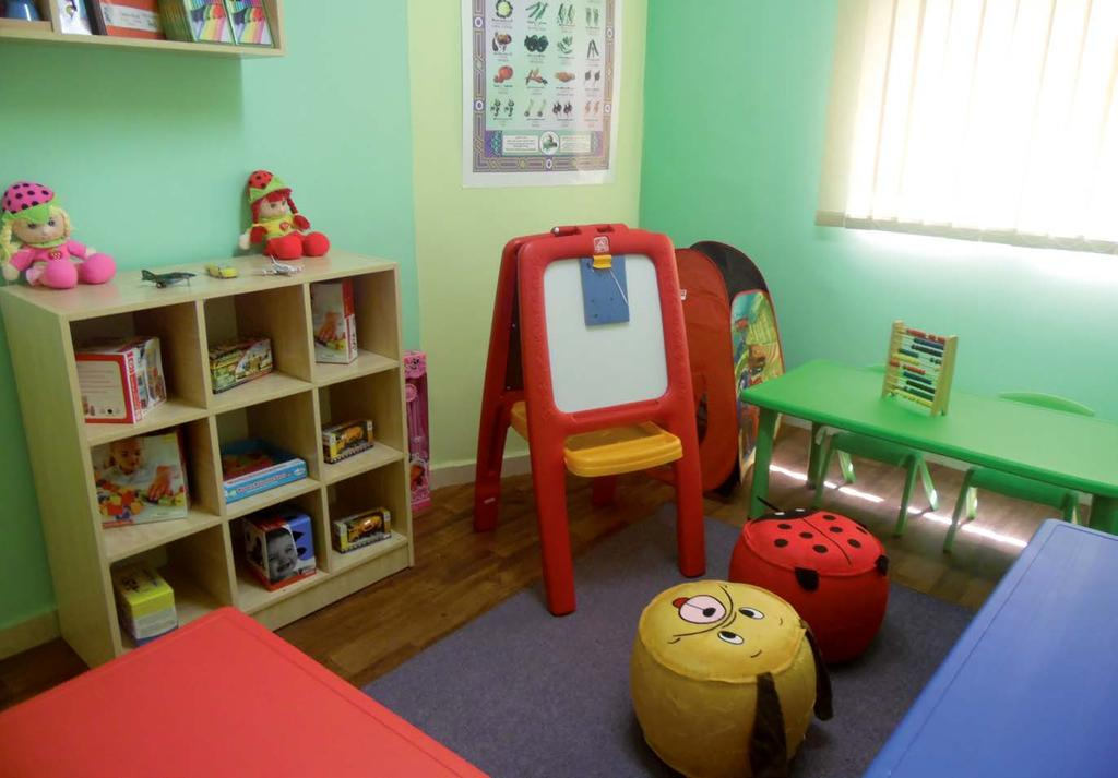 Source: Ministry of Labour, Jordan To encourage and support employers to establish day care centres, the project, through the NCFA, provides technical and financial support and trained personnel to