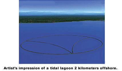 Disadvantages of Tidal Barrage Tidal Lagoon Prevents migration of