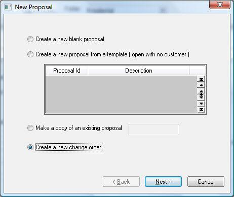 Printed Documentation Creating Change Orders within a Progress Billing Tab A change order is a change to the original contract or budget.