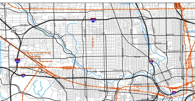 Westpark, and US90A Corridor Study Area Figure 1.