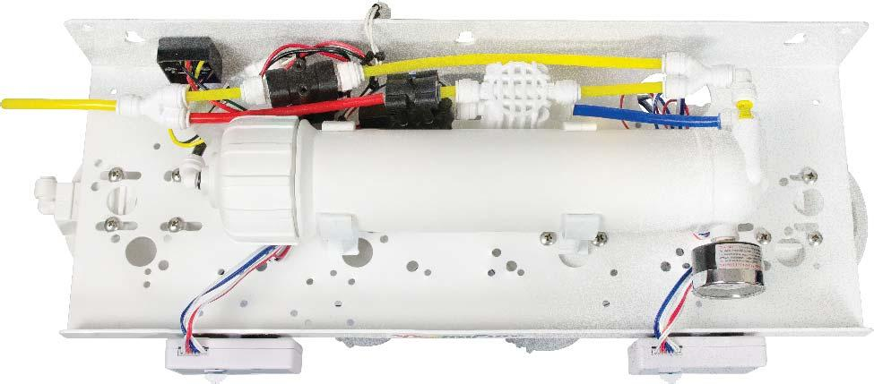 SpectraPure REAR VIEWS for - AF SYSTEMS: Soleonid Valve (Under ASO Valve) Control Module (AFC-01) Connect to Power Supply (White-White) Pressure