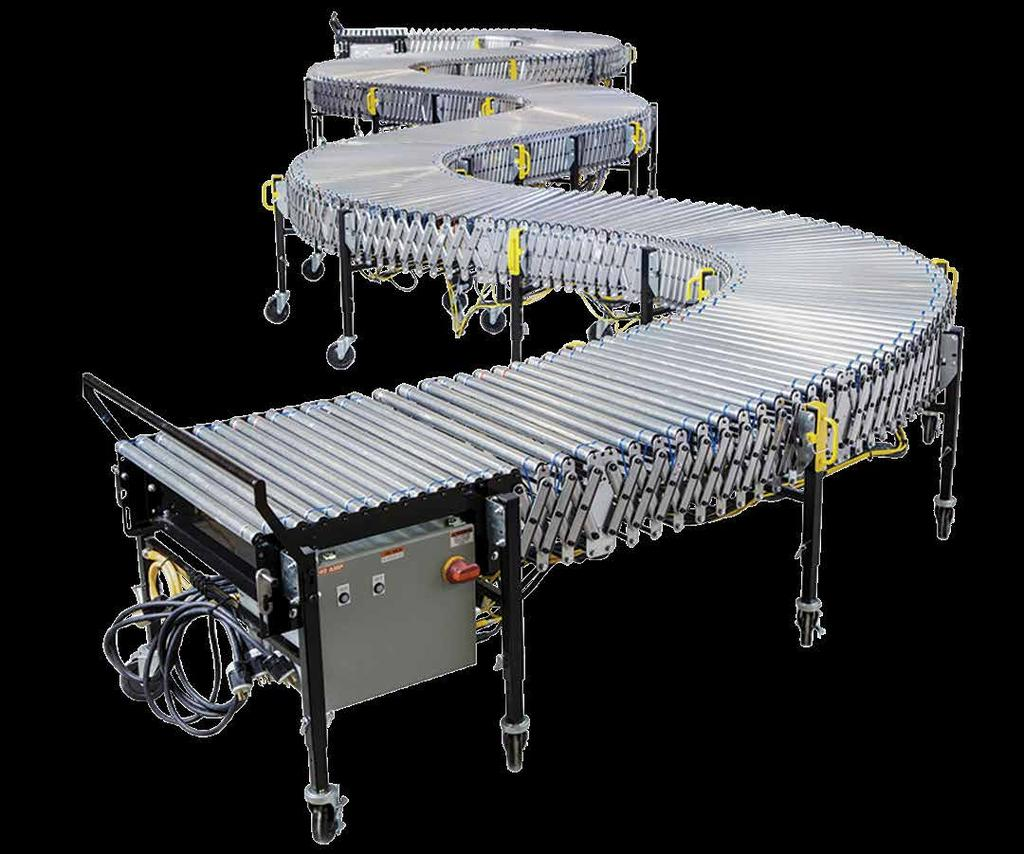 POWERED FLEX CONVEYOR INSTALLATION, OPERATION & MAINTENANCE MANUAL PLEASE REVIEW MANUAL BEFORE