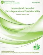 Short Communication International Journal of Development and Sustainability ISSN: 21688662 www.isdsnet.