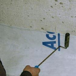 about 15 cm from the floor; cleaning horizontal and vertical surfaces from dust