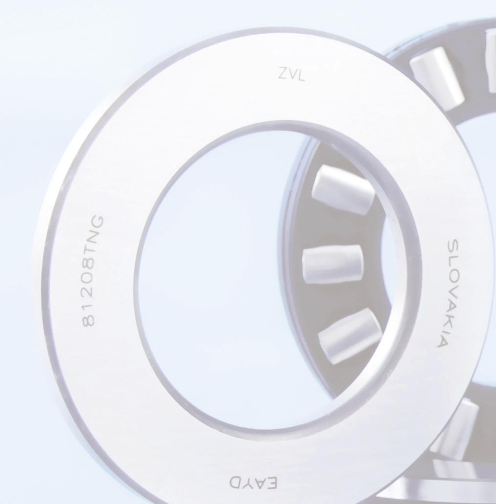 BEARINGS FOR STEEL INDUSTRY The working conditions of bearings