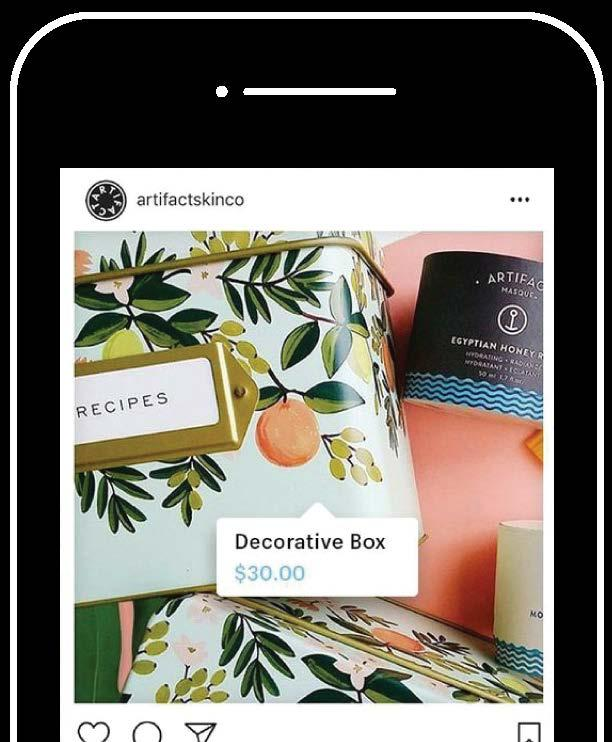 Instagram Allows brands and influencers to make an organic post