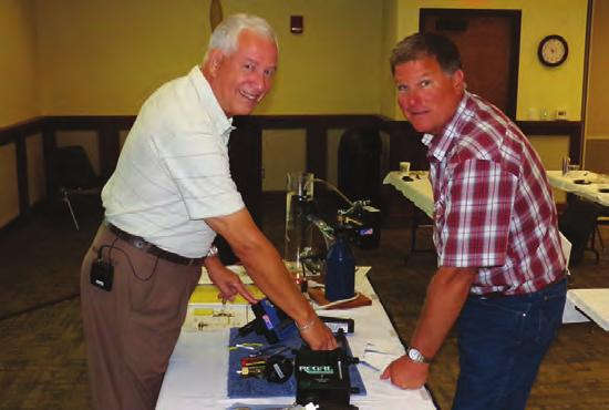 Kan. hen water or wastewater system training seminars are packed with information, are down to earth and interactive and taught by an expert in the field, there is no other secret formula for drawing