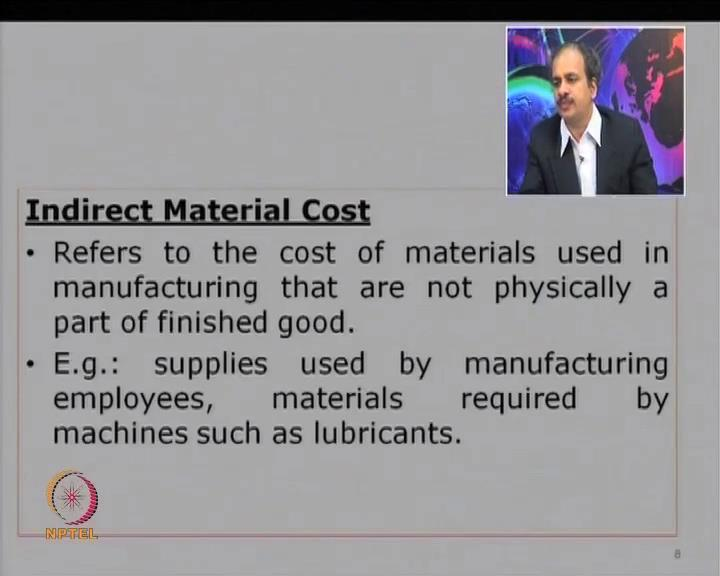 What we are saying is something which is exclusively related to a particular product or a cost center that is what is known as a direct cost.