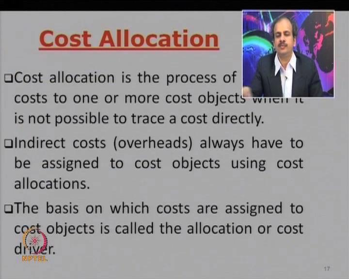 (Refer Slide Time: 37:30) Now, let us look at the steps of accounting for the costs.