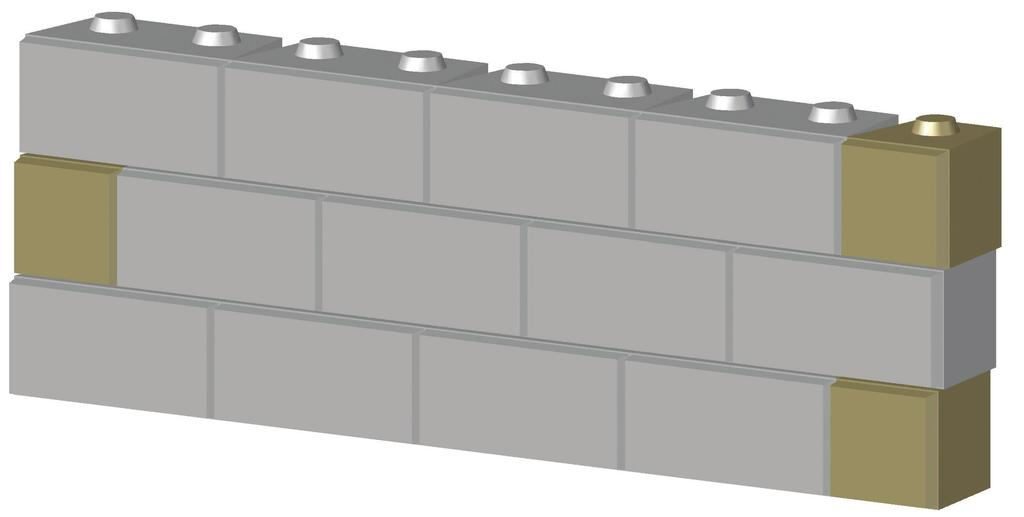 INSTALLATION BASICS WALL STABILITY To protect against tipping, LedgeRock walls require each course to step back 2 inches.