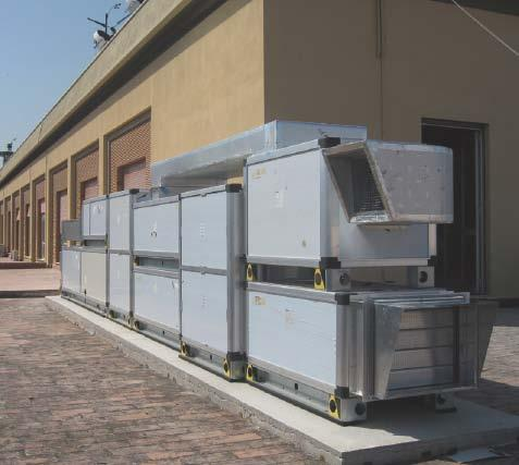 Example 2: Desiccant cooling system, 24 kw, Department of Energy and Environmental Research Università degli Studi di Palermo (Unipa), Italy This system is intended for air conditioning in hot humid