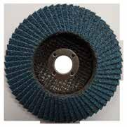 1.0 Flap Discs Josco Ceramic Flap Discs Ceramic Flap Discs are excellent for fast, aggressive stock removal and metal finishing.