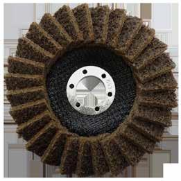 Flap Discs Josco Poly Flap Discs Josco Poly Flap Discs are made from a non-woven abrasive cloth and are ideal for removing