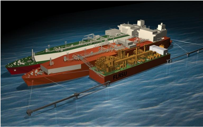 Slide 5 Floating Liquefied Natural Gas (FLNG) unit concepts For the last 5 years, about 30 projects of FLNG units have been seriously taken into consideration (Shell Prelude, Coral FLNG, Exmar