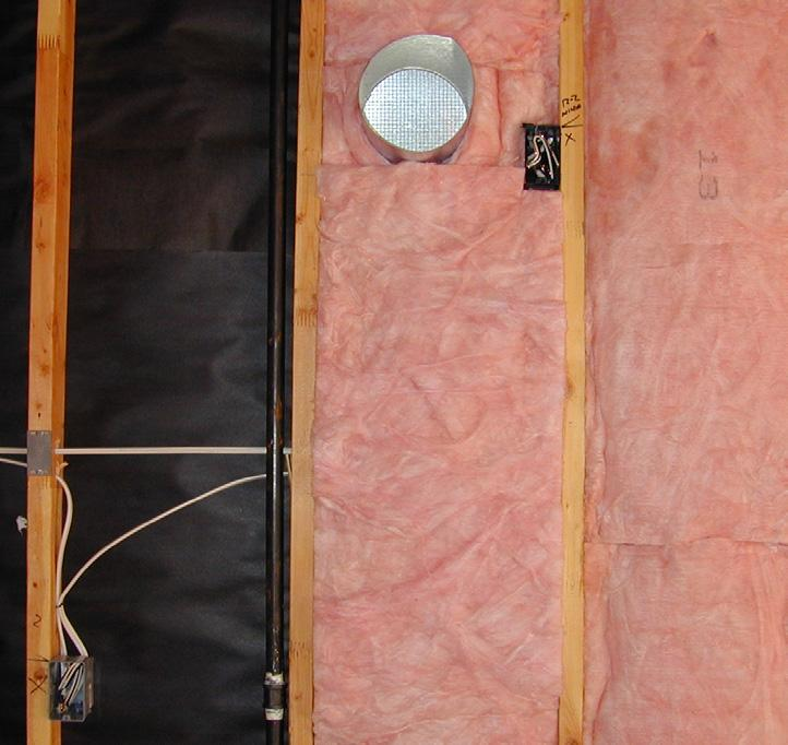 NO MISALIGNMENT Install insulation to