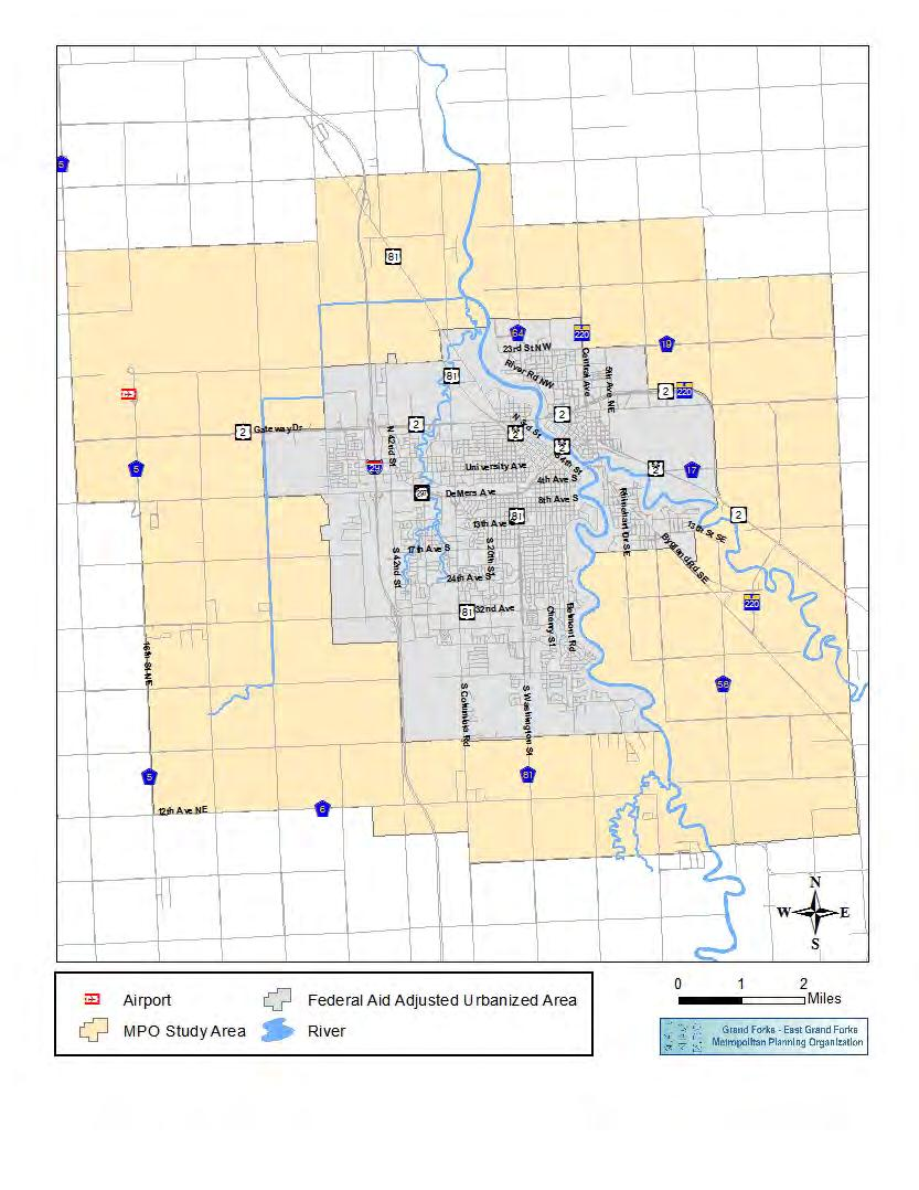 Figure 1: Grand Forks/East Grand Forks Metropolitan