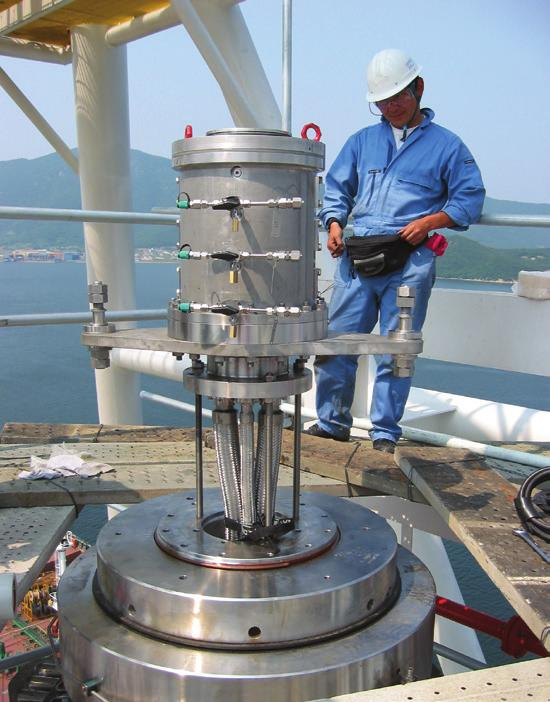 Flexibility and Versatility The OneSubsea swivel stack and fluid transfer systems provide