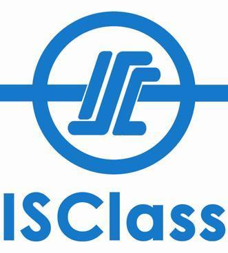 INTERNATIONAL SHIP CLASSIFICATION 10 Anson Road, #25-01 International Plaza Singapore 079903 Tel: +65 6225 2565 Fax: +65 6225 2265 Email: info@isclass.com Website: www.isclass.com CERT. NO.