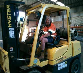 22 HIGHLIGHTS November 2014 THE CHALLENGES OF BEING A FEMALE IN THE MINING INDUSTRY ARE LESS AS THE YEARS GO BY. THERE IS MORE ACCEPTANCE NOW, NO NEED TO DO THE JOB FROM THE PUB ANYMORE!