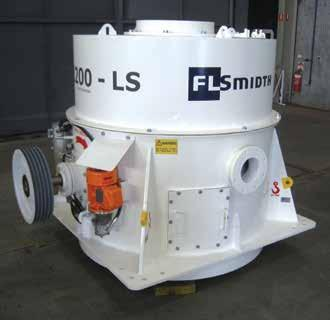HIGHLIGHTS November 2014 31 SINCE THE INSTALLATION OF FC1200-LS, WITH AN OIL FEED TOP BEARING, WE CONSIDER THE FOLLOWING TO BE TRUE ADVANTAGES OF THIS NEW UNIT: LONGER RUN PERIODS DUE TO REDUCED DOWN