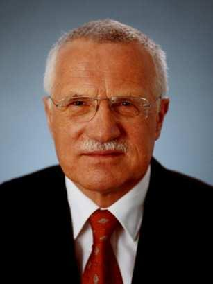 VÁCLAV KLAUS Kl a u s [ Václav Klaus, President of the Czech Republic ] states «We have only two ways out, salvation through carbon c apping, or pr osperi ty throug h fre edo m, unhampered human