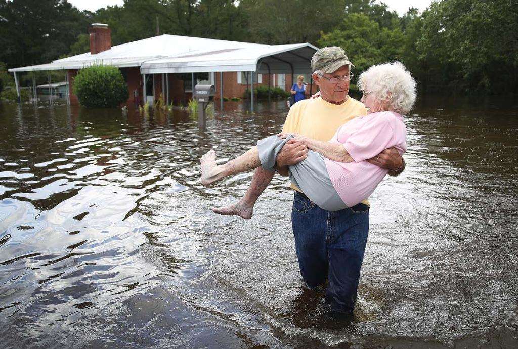 OPINION Millions More Americans Face Flood Risks Than Previously Thought This hurricane season, the United States saw floodwaters rise on the eastern seaboard in the aftermaths of devastating storms.