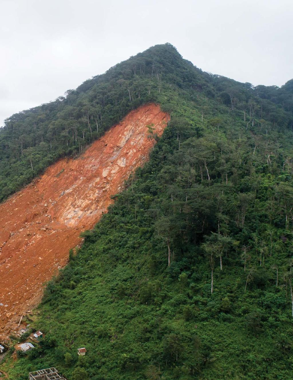 In spring and summer of 2017, torrential rainfall triggered a series of landslides culminating in two catastrophic disasters: one in Mocoa, an inland city in southwestern Colombia, and another