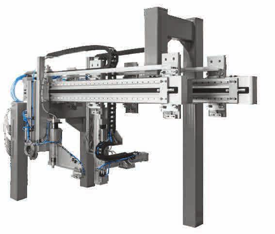 Tailored to your requirements application-specific solutions and control cabinets Individually developed In addition to flexible standard products, Festo also develops handling systems based entirely