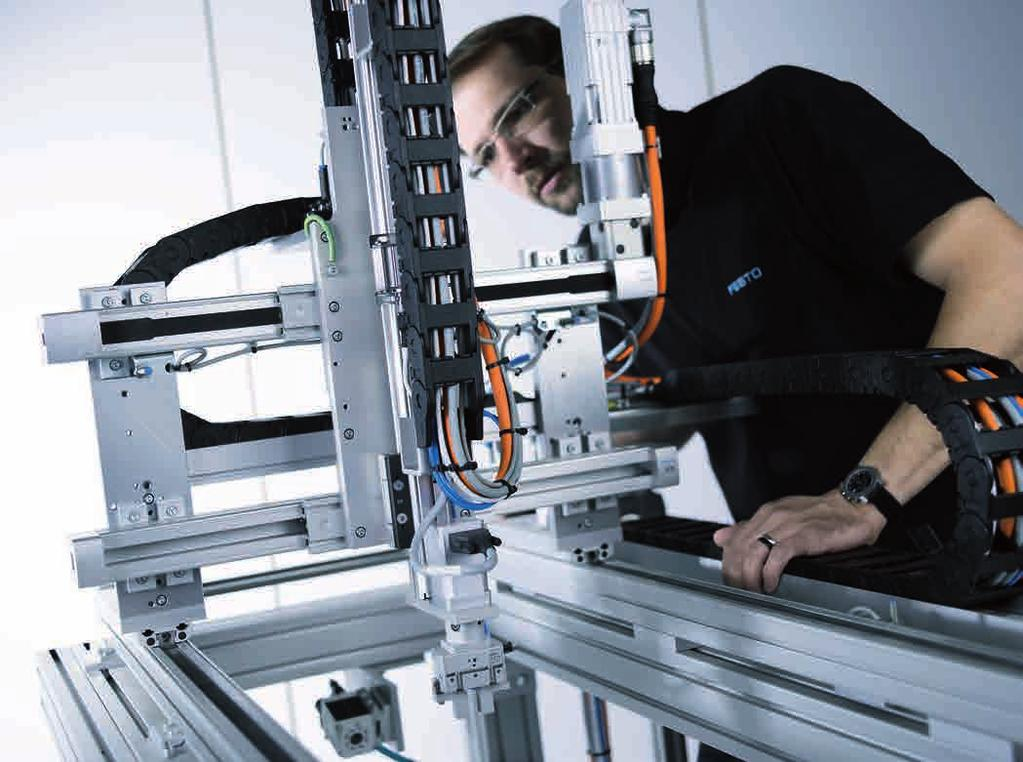with up to 6 axes. Festo control cabinets for control systems provide protection for control components for single-axis and multi-axis systems.