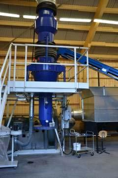 Fiber sludge - Drying studies Drying was performed in a Tornado dryer, Airgrinder AB Possibility to control DM